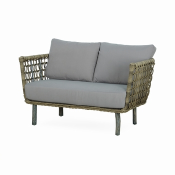 Sissy Loveseat/2 seater,Suitable for your Outdoor area with under patio or Terrace Area