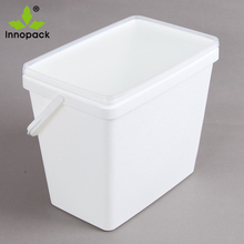 food grade stackable ultra-thin plastic bucket pail buckets
