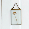 Double Sided Hanging Picture Frames Glass Frame In Gold Antique