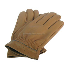 Blue Leather Fashion Gloves | Brown Leather Gloves | Hot Selling Fashion Leather Winter Gloves