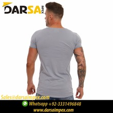 Accepted Style OEM men Slim fit body fitted tee shirt