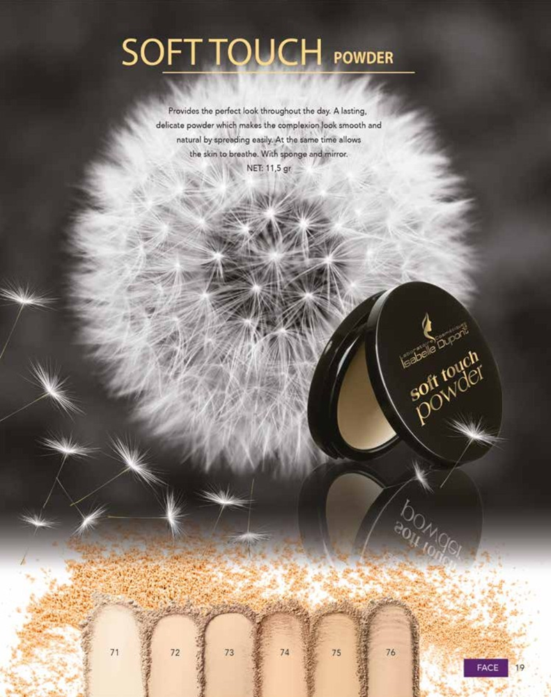 ISABELLE DUPONT SOFT TOUCH COMPACT POWDER