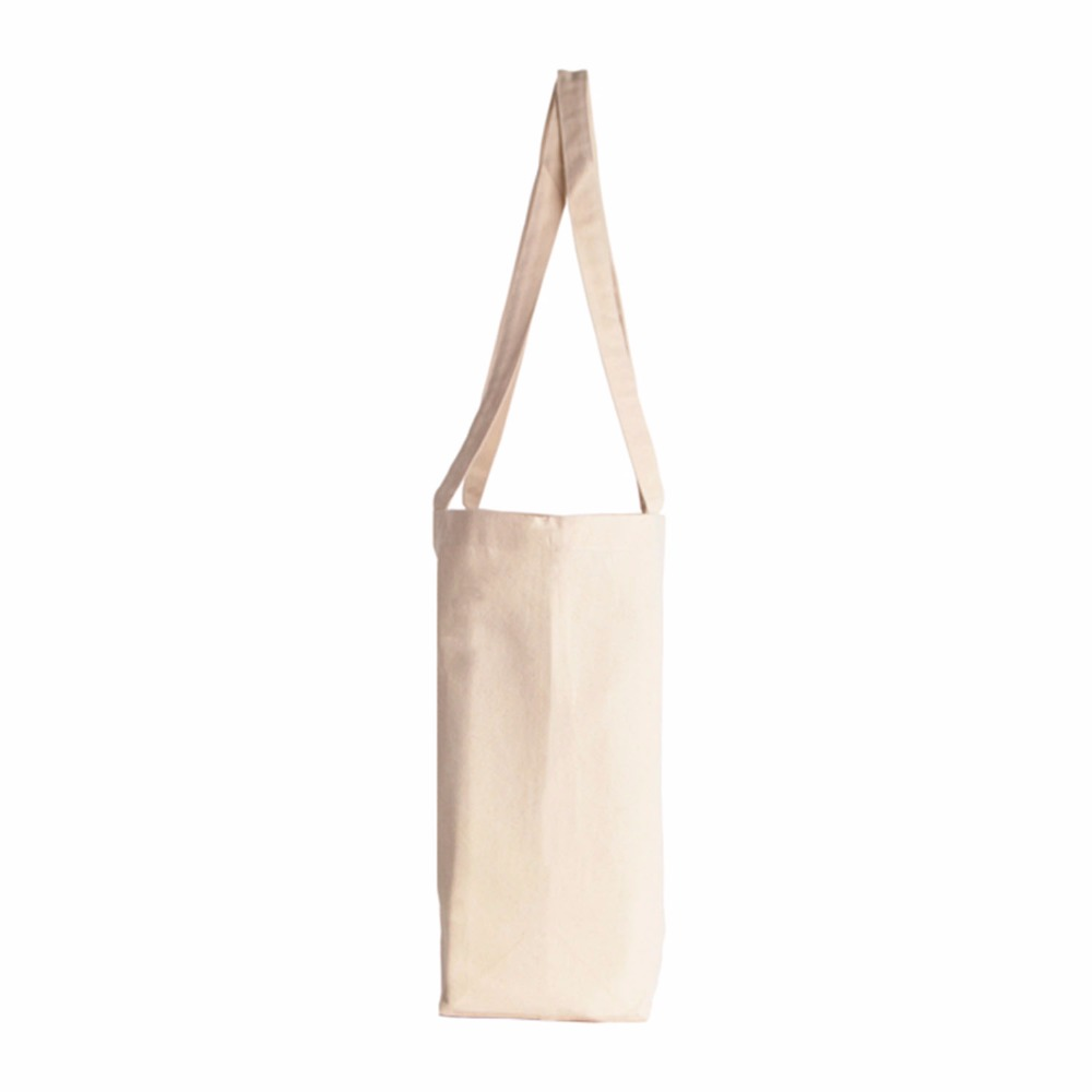 Hot sale substantially sized heavy canvas tote bag with gusset bottom