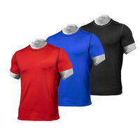 100% Polyester Quick Dry Tshirt For Sports Men Tee Gym Blank With Custom Design