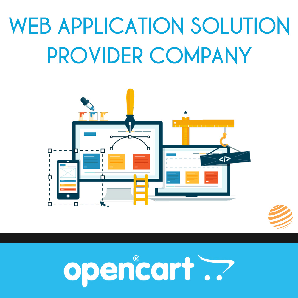 OpenCart web application solution provider company