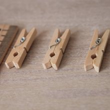 "Clothespins 10 pcs / 1,2"" (3 cm) Miniature"