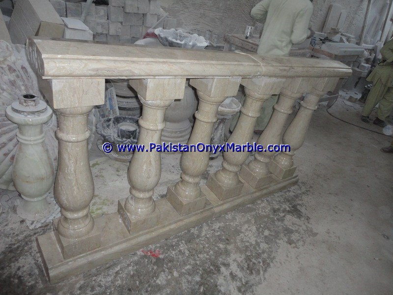 Marble handrail and balustrade good quality cheap price