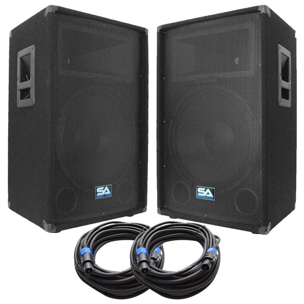 High quality, all size loudspeakers, wired & B.T PC connection.