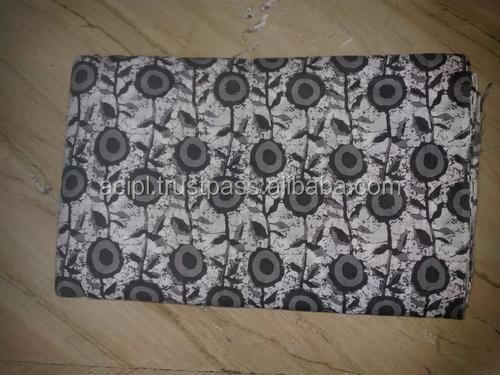 Factory price latest design cambric printed fabric