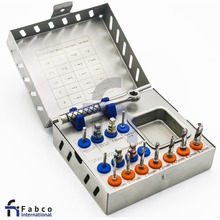Surgical Drill Kit / Drills / Drivers / Ratchet / Dental Implant Instruments