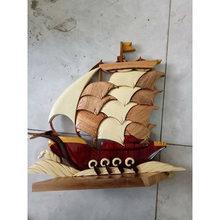 Wood Carving Sea And Ocean Model For Wall Hanging Decoration Piece On Sale