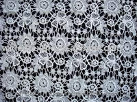 Embroidery GOP lace Fabrics / Chemical LACE Fabrics Manufacturer & Supplier from INDIA
