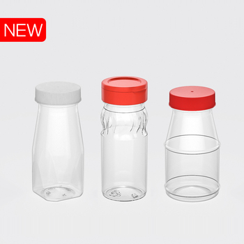 Small PET Plastic jar/bottle to contain pepper sault made in Vietnam