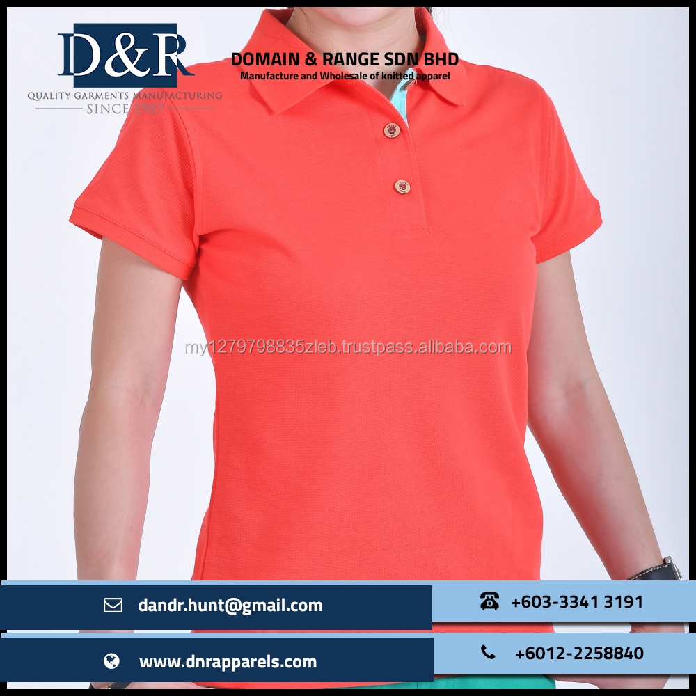 OEM Ladies Polo T-Shirt Casual Wear