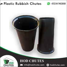 Light Weight Plastic Garbage Chute/ Rubbish Chute for Under Construction Waste
