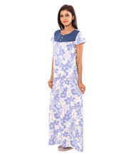 Pure cotton printed nighty india