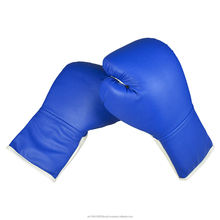 Leather Focus Mitts Lace-up Fighting Boxing Glove