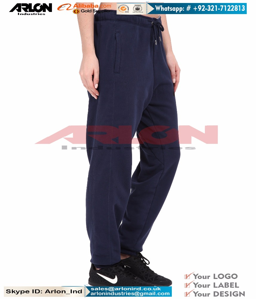 High Quality Cotton Polyester Fabrication Fashion Jogger Pants Women's Sweatpants For Comfortable Gym Exercise