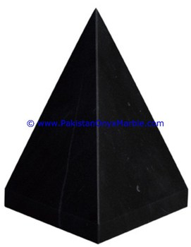 export quality onyx marble pyramids black Zebra marble hand carved polished
