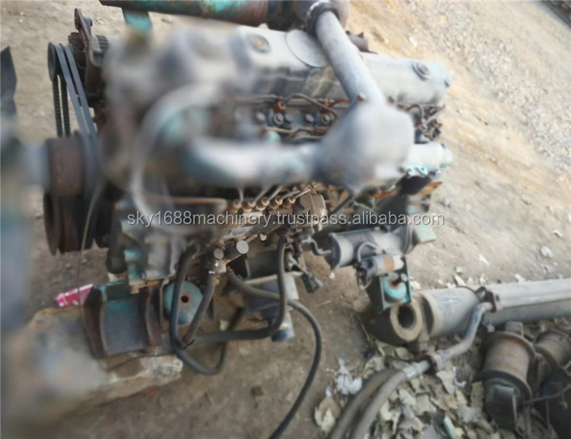 Original japan Secondhand Isuzu engine for excavator japan engine