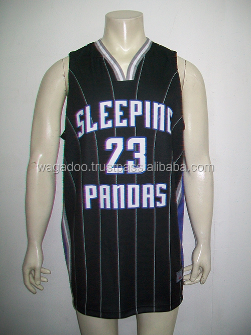 Basketball Black Jersey Clothing
