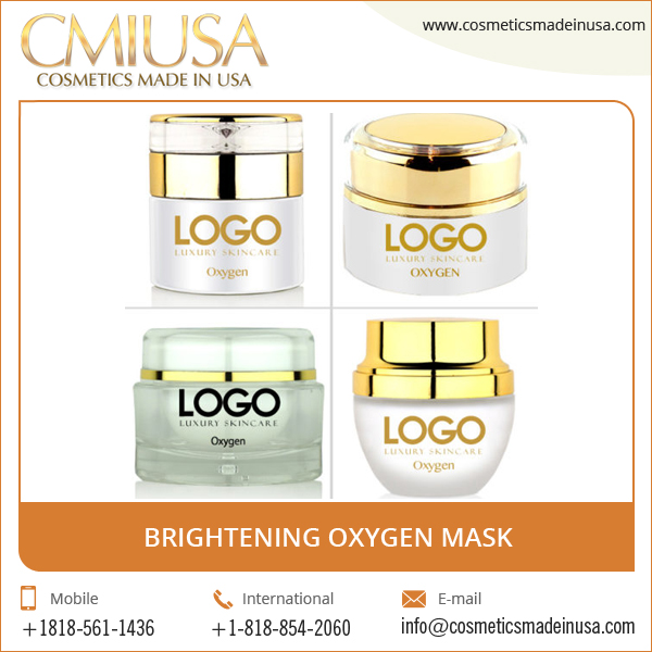 Professional Quality OEM ODM Oxygen Bio Cellulose Brightening Facial Mask
