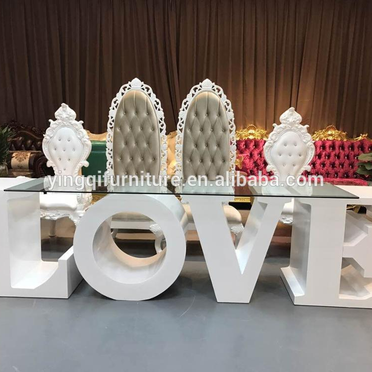 LOVE Letter <strong>Table</strong> for Wedding Stage Decoration