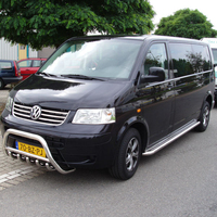 Stainless Steel Bull Bar VW Transporter T5