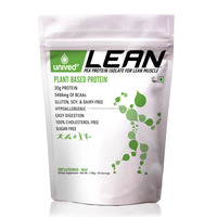 Lean Raw Pea Protein Isolate Powder, Low Carb & Sugar Free Vegan & Plant-Based Protein, Unflavoured, 30 Servings, 1.143g