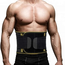 Breathable Low Back Pain Relief Lumbar Protector Waist Back Braces Supports Belt