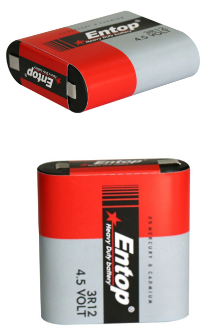Good Performance Entop Brand 4.5V battery