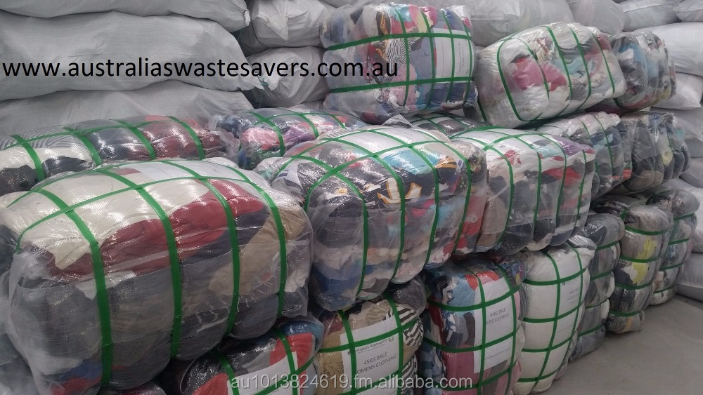 Used Australian Clothing & Household Textiles