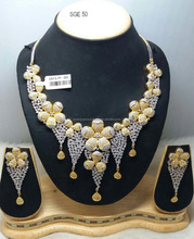 Hot selling american diamond necklace set for women- wholesale jewelry online