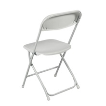 Commercial White Plastic Folding Chairs