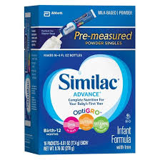 Similac Advance Infant Formula with Iron, Powder, One Month Supply, 3
