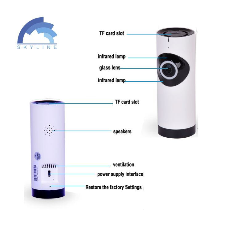 New Arrival Indoor Wifi 720P Wireless Home Security Alarm And Camera System