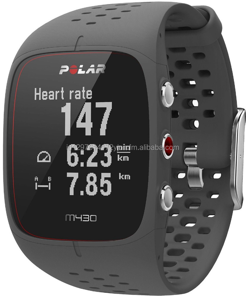 Wrist-Based Heart Rate Advanced Training Features Black