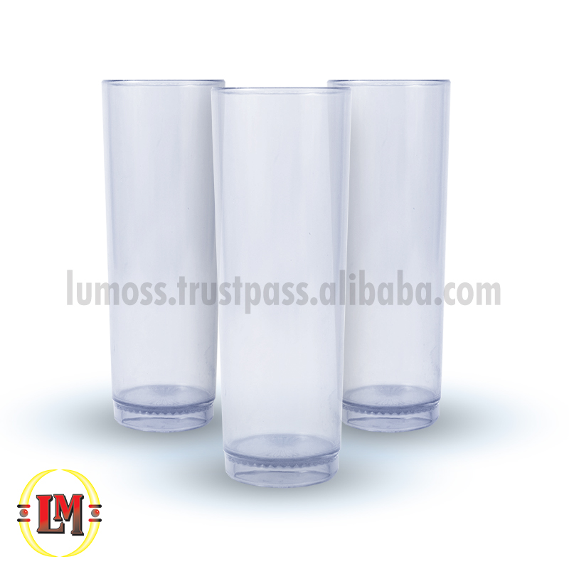 Clear Zombie Drinking Glass/Tumbler - 360ml
