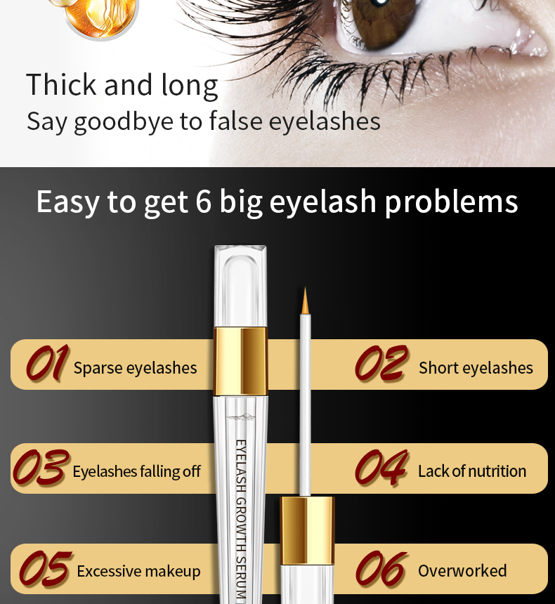 Best Natural Super Lash Wholesale Organic Private Label OEM Real Plus Enhancer Eyelash Growth Serum