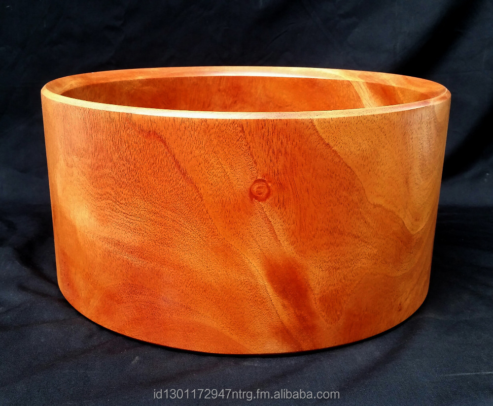 Solid Hollowed Mahogany Drum Shell
