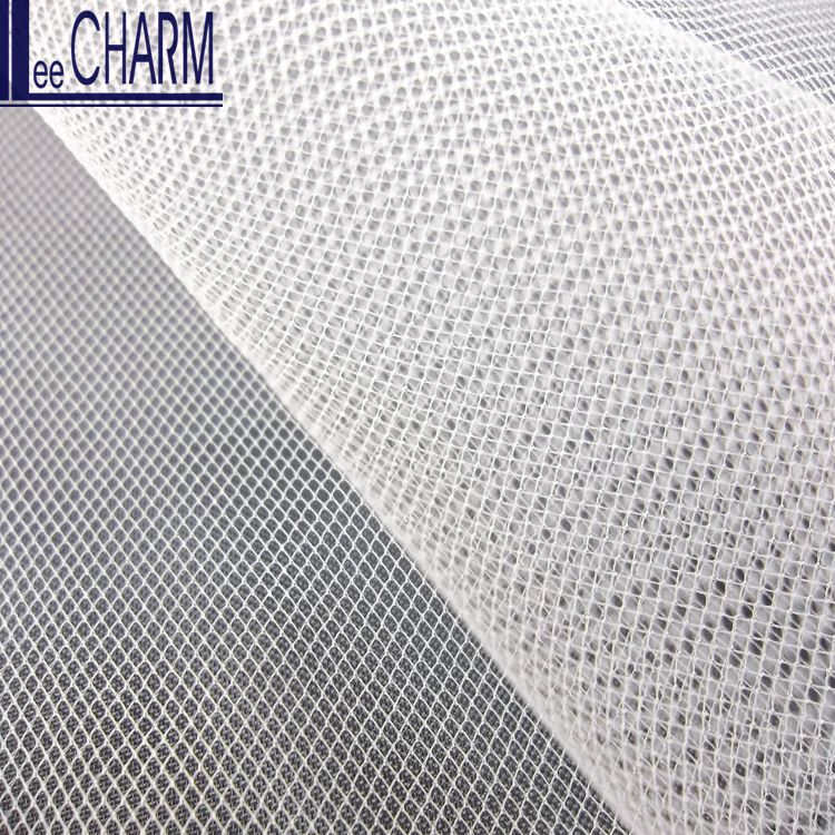 LCY390 Taiwan 20D Cheap Fine Nylon Soft Bridal Mesh Fabric