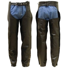 custom motorcycle leather chaps motorbike leather chaps