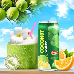 Coconut water 100% pure with natural fruit juice flavor JOJONAVI canned 500ml