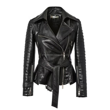 Women Leather Jacket for Party Wear