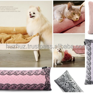 CATSLINE Popular Digital printing chair cushion Digital printing soft side disply patterned pet dog cat head toy cushion