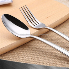 Promotional 2PC Stainless steel abs handle laguiole flatware spoon