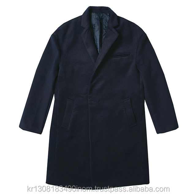 HIDDEN BUTTON DROP SHOULDER COAT VG4CTA16