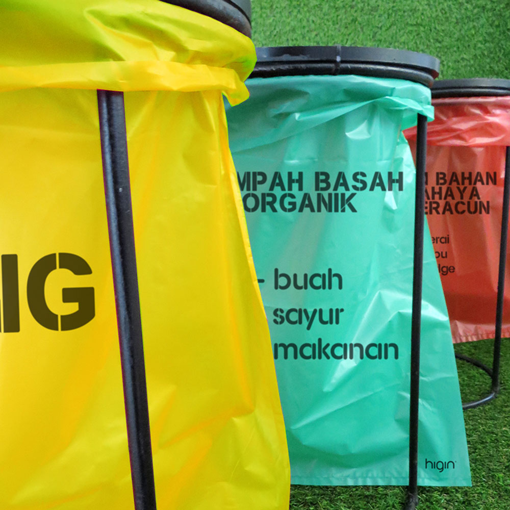 High Quality Plastic Trash Bag From Indonesia