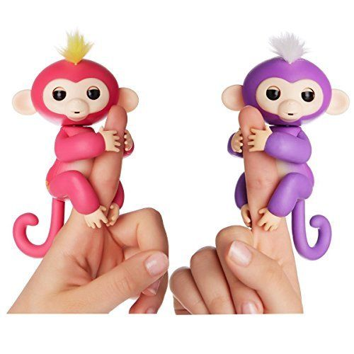 COMPLETE SET OF ALL 7 FIN_GER_LING Interactive Pet Baby Monkey and Monkey