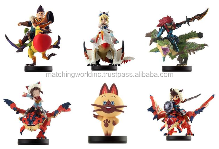 well-known Japan TV games figures (all brand New)